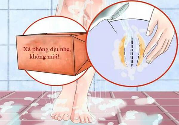 cách vệ sinh vùng kín bị viêm nhiễm