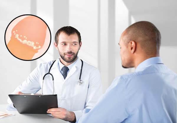 điều trị dương vật nổi mụn trắng