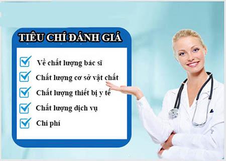 Tiêu chí chọn bệnh viện phụ khoa Vĩnh Phúc