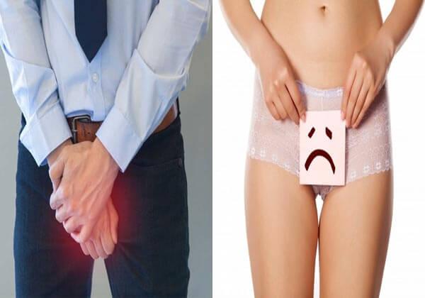 triệu chứng bệnh lậu ở nam giới, nữ giới